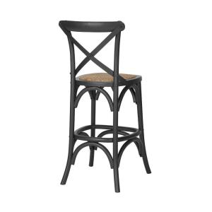 Awesome Home Decorators Collection Mavery Black Wood Counter Stool Spiritservingveterans Wood Chair Design Ideas Spiritservingveteransorg