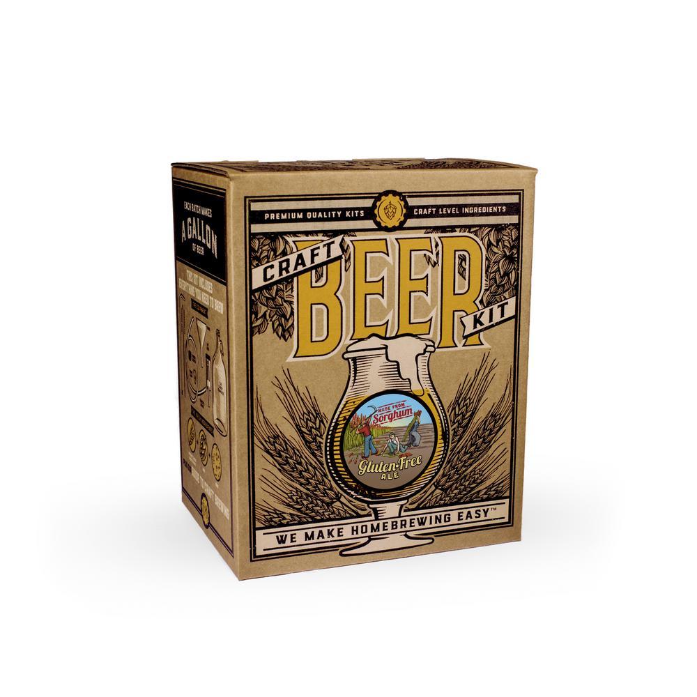 Beer Brewing Kit in Gluten Free Ale