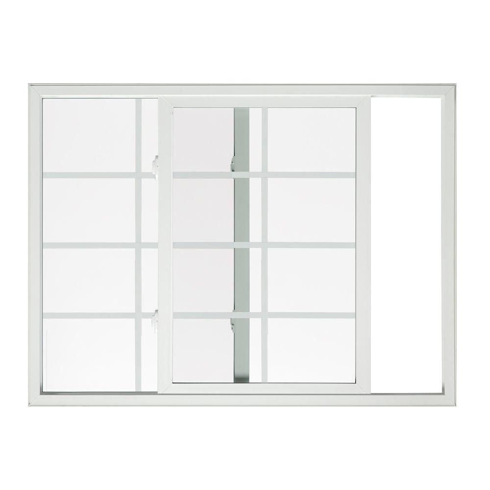Tafco windows 32 in x 14 in left hand single sliding for Vinyl insulated windows