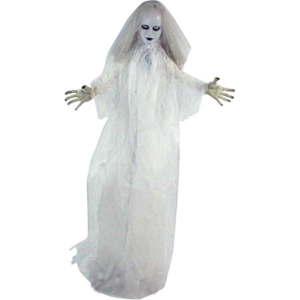 64 in. Touch Activated Animatronic Bride