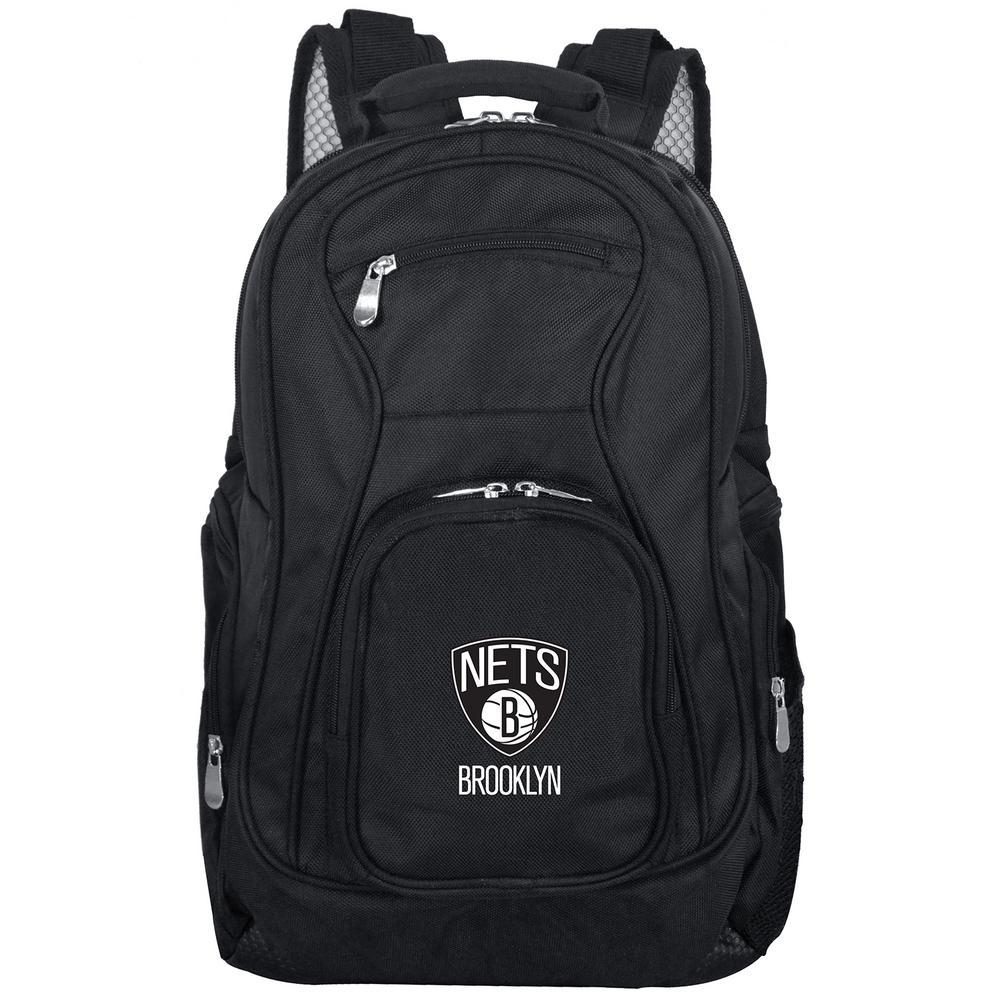 Denco NBA Brooklyn Nets Laptop Backpack, Black
