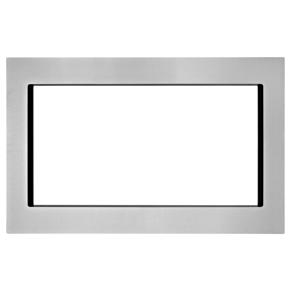Maytag Appliance Parts Appliances The Home Depot Mdb4651awb Diagram 30 In Microwave Trim Kit Fingerprint Resistant Stainless Steel