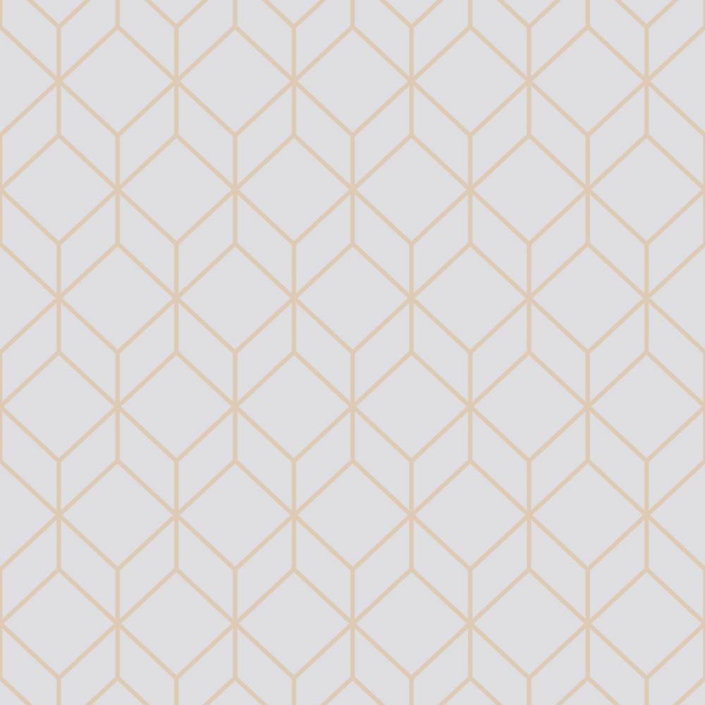 Geometric Mid Century Modern Grey Wallpaper Home Decor The