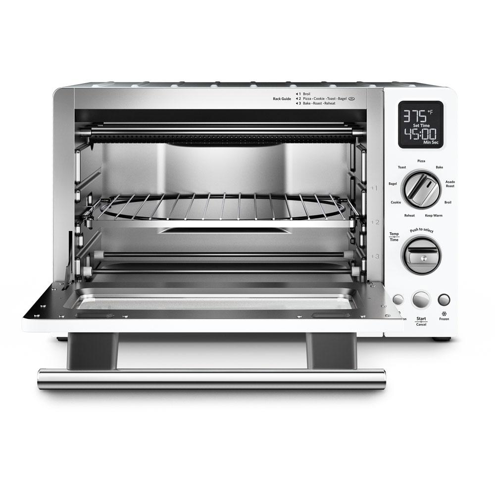 Kitchenaid 2000 W 4 Slice White Convection Toaster Oven With