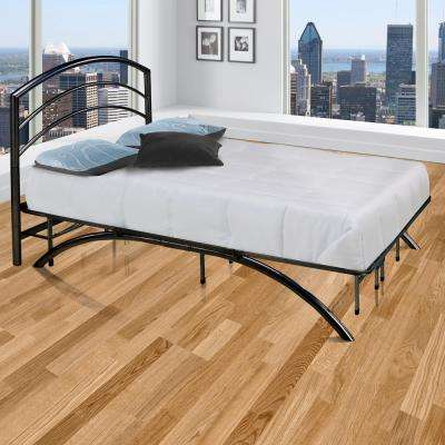 Dome Arch Black Full Platform Bed Frame with Headboard