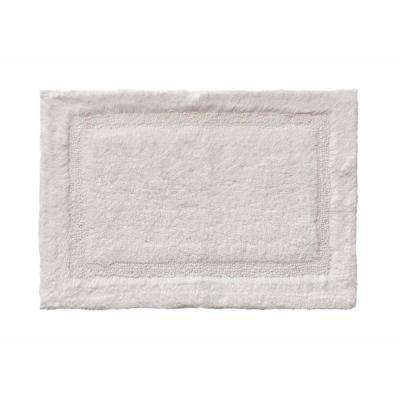 Asheville 17 in. x 24 in. 100% Organic Cotton Bath Rug in Driftwood