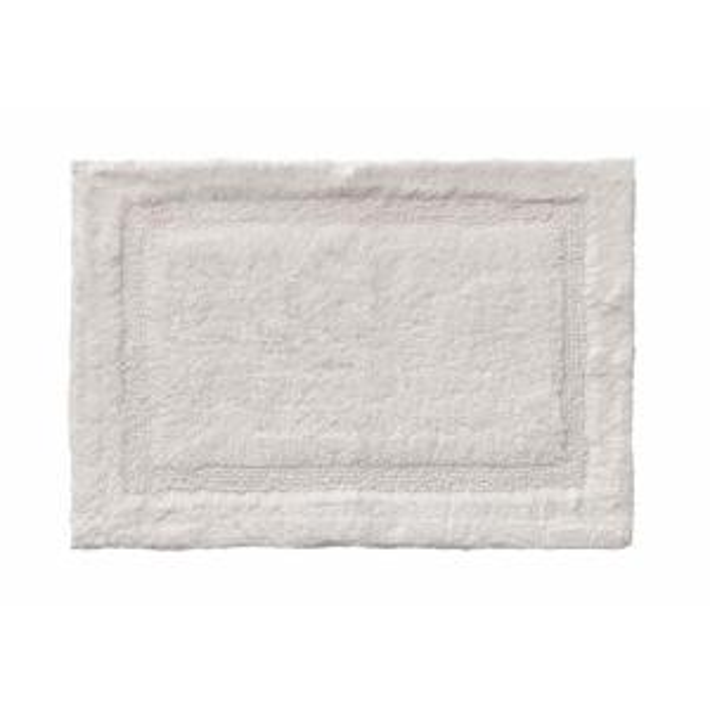 Asheville 24 inch x 40 inch 100% Organic Cotton Bath Rug in Driftwood by