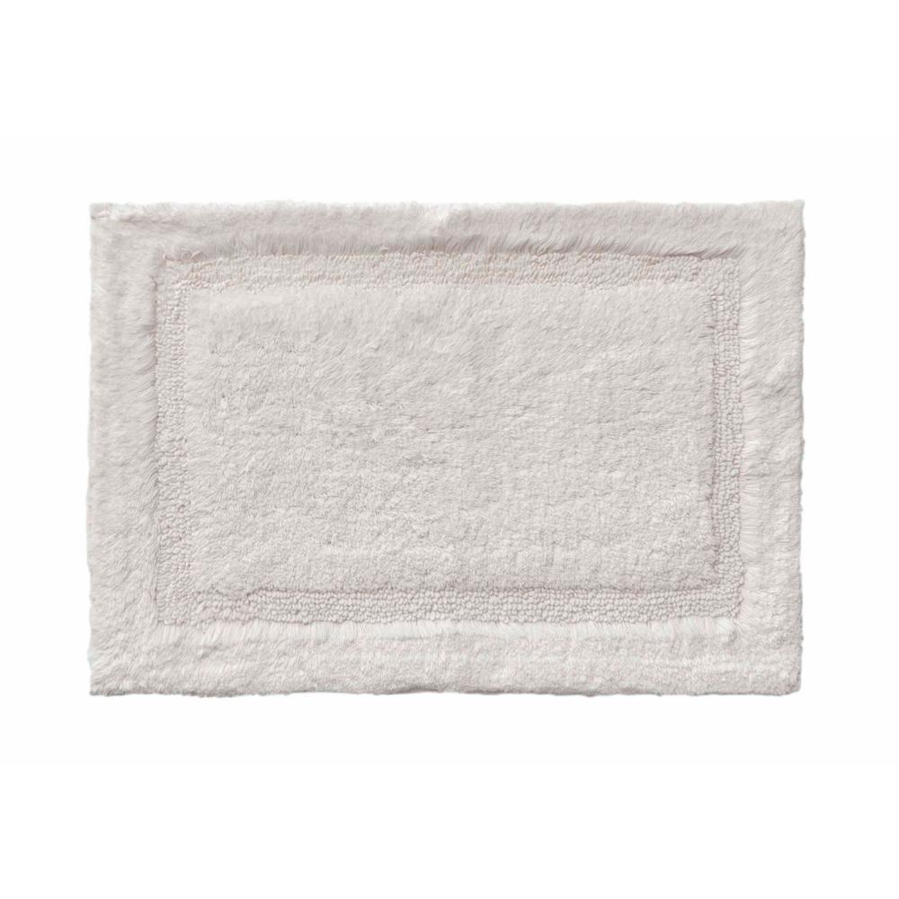 Asheville 24 inch x 60 inch 100% Organic Cotton Bath Rug in Driftwood by