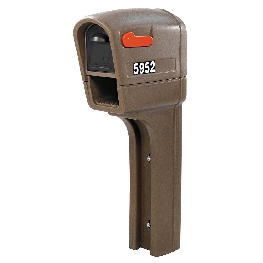 Step2 MailMaster Plus Mailbox In Walnut-595200