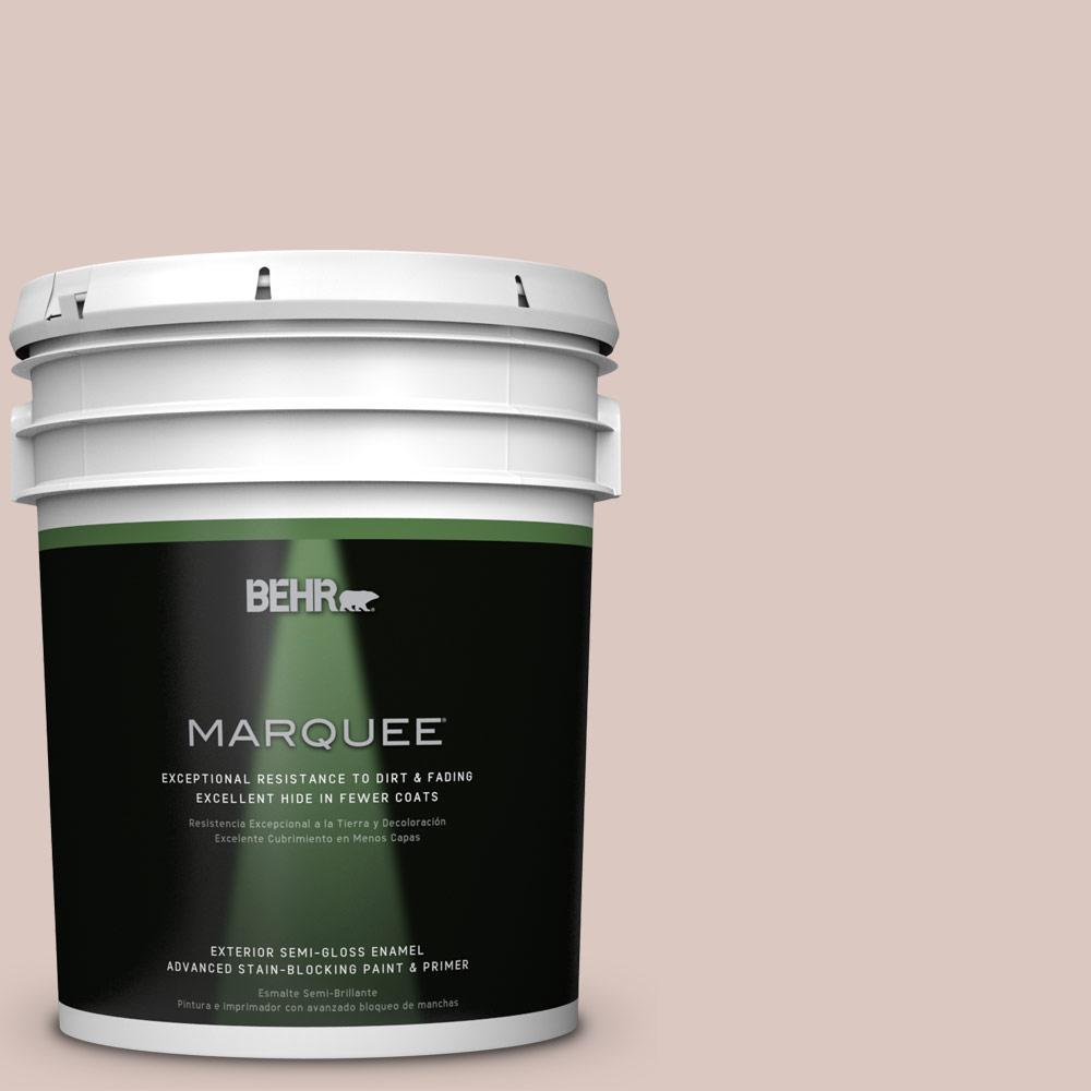 BEHR MARQUEE 5-gal. #N160-2 Malted Semi-Gloss Enamel Exterior Paint