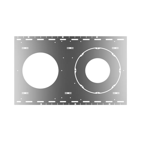 New Construction Stud/Joist Mounting Plate Compatible with 6 in. and 8 in. Commercial Downlights (2-Pack)
