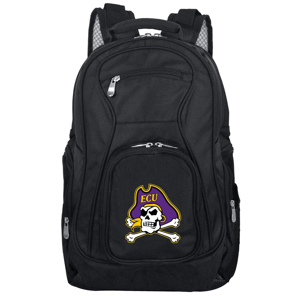 NCAA East Carolina Black Backpack Laptop