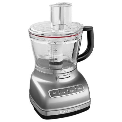 ExactSlice 14-Cup 2-Speed Contour Silver Food Processor