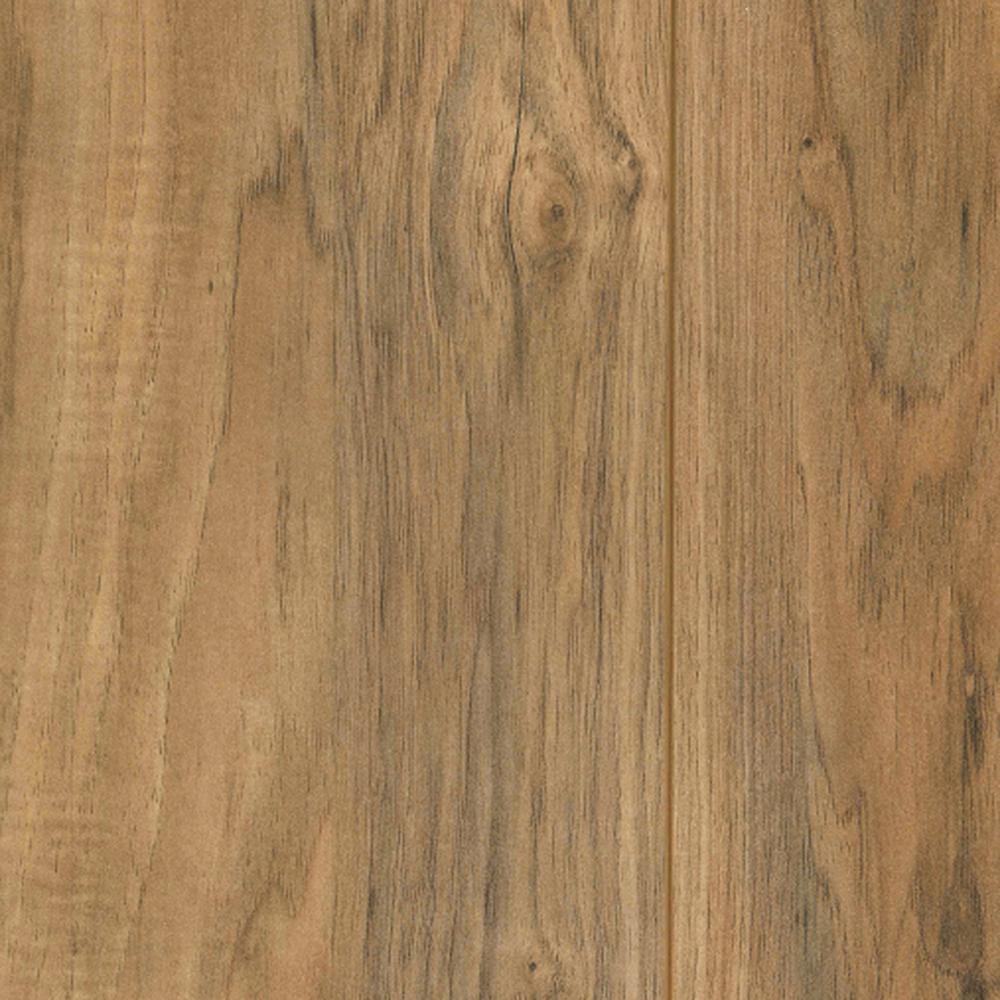 Lakeshore Pecan Laminate Flooring - 5 in. x 7 in. Take Home Sample