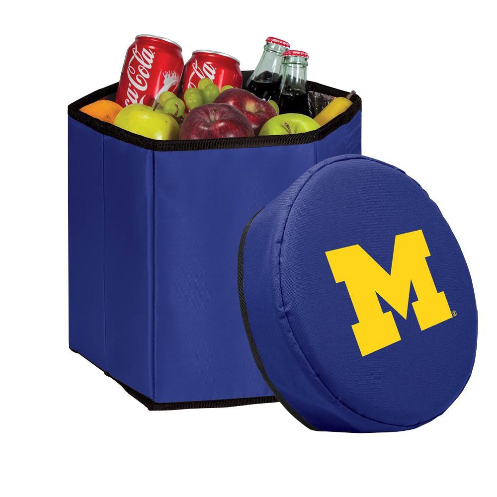 12 Qt. Michigan Wolverines Navy Bongo Cooler