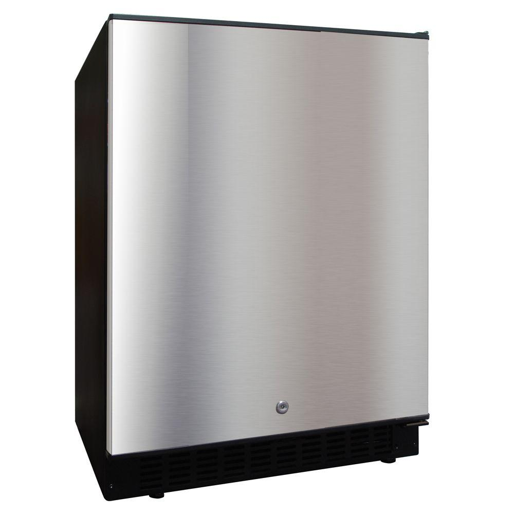 Vinotemp 5.12 cu. ft. Outdoor Refrigerator in Stainless steel