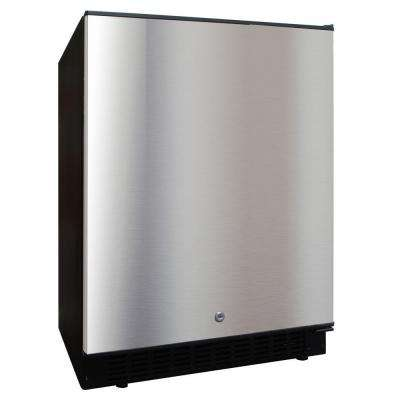 5.12 cu. ft. Outdoor Refrigerator in Stainless steel