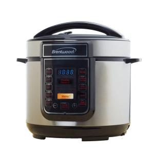 Click here to buy Brentwood 5 Qt. Pressure Cooker by Brentwood.
