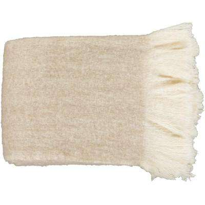 Karelia Khaki Acrylic Throw