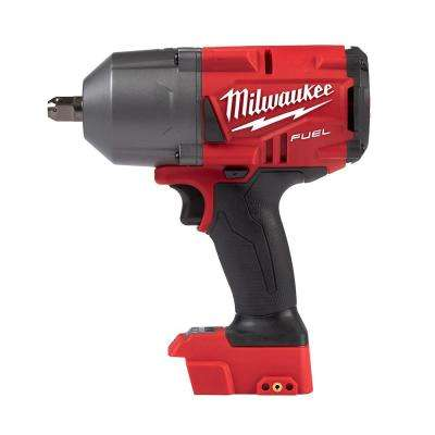 M18 FUEL 18-Volt Lithium-Ion Brushless Cordless 1/2 in. Gen II High Torque Impact Wrench with Pin Detent (Tool-Only)