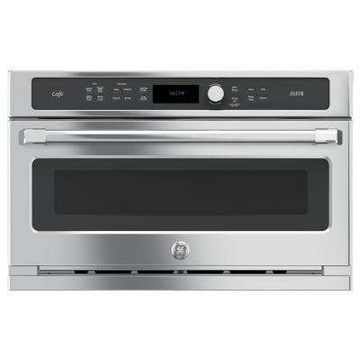 30 in. Single Electric Wall Oven with Advantium Cooking in Stainless Steel