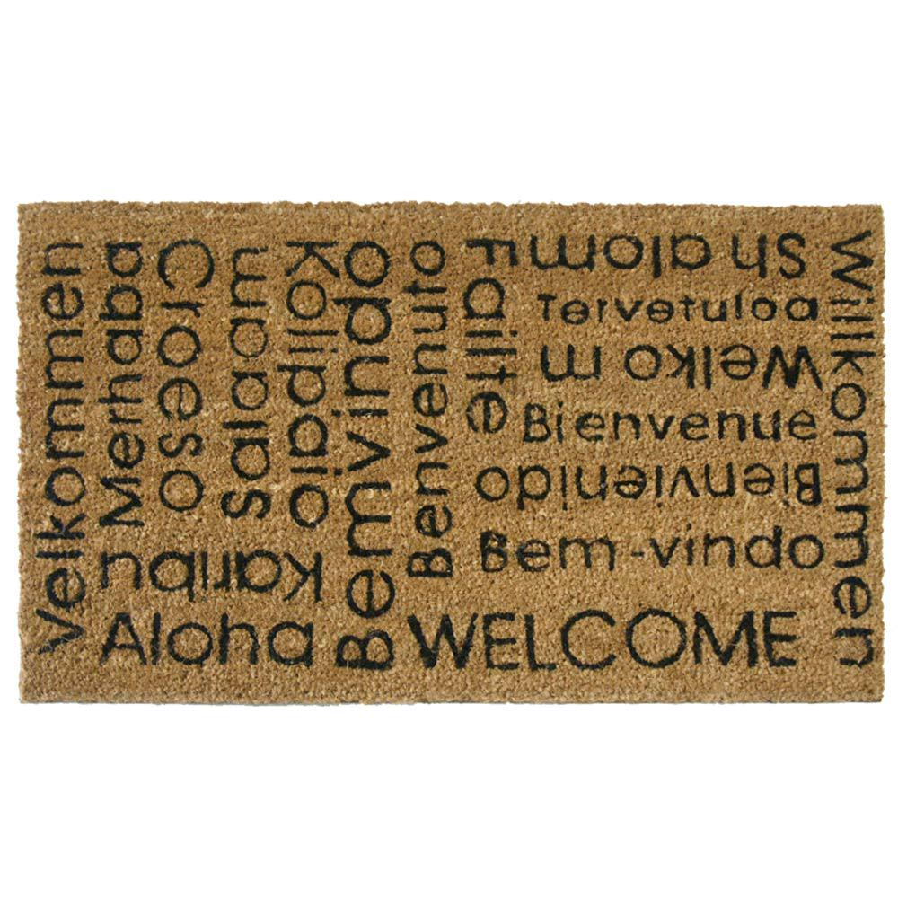 Rubber-Cal In Any Language It Is Still a Welcome Mat 30 in. x  sc 1 st  Home Depot & Rubber-Cal In Any Language It Is Still a Welcome Mat 30 in. x 18 in ...