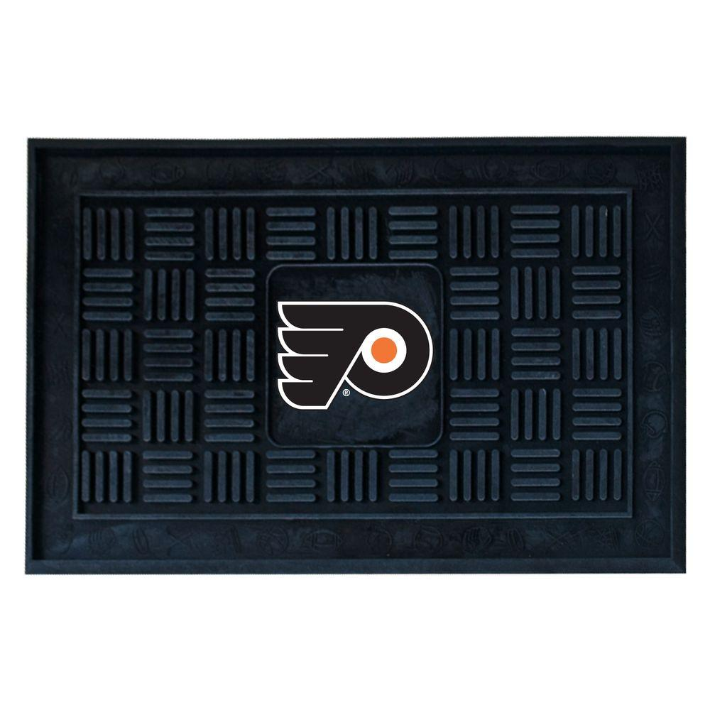Fanmats Philadelphia Flyers 18 In X 30 In Door Mat 11477