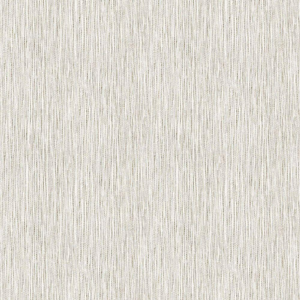 Tan Bathroom With Tan Grasscloth Wallpaper: Graham & Brown Ivory Shimmer Damask Wallpaper-50-276