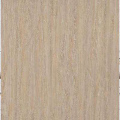 Light Brown Travertine 12 in. x 24 in. Peel and Stick Vinyl Tile