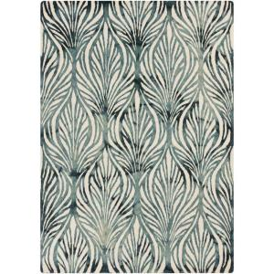 Artistic Weavers Mogata Teal 9 ft. x 13 ft. Indoor Area Rug by