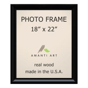 Amanti Art Steinway 18 In X 22 In Black Picture Frame Dsw1385340