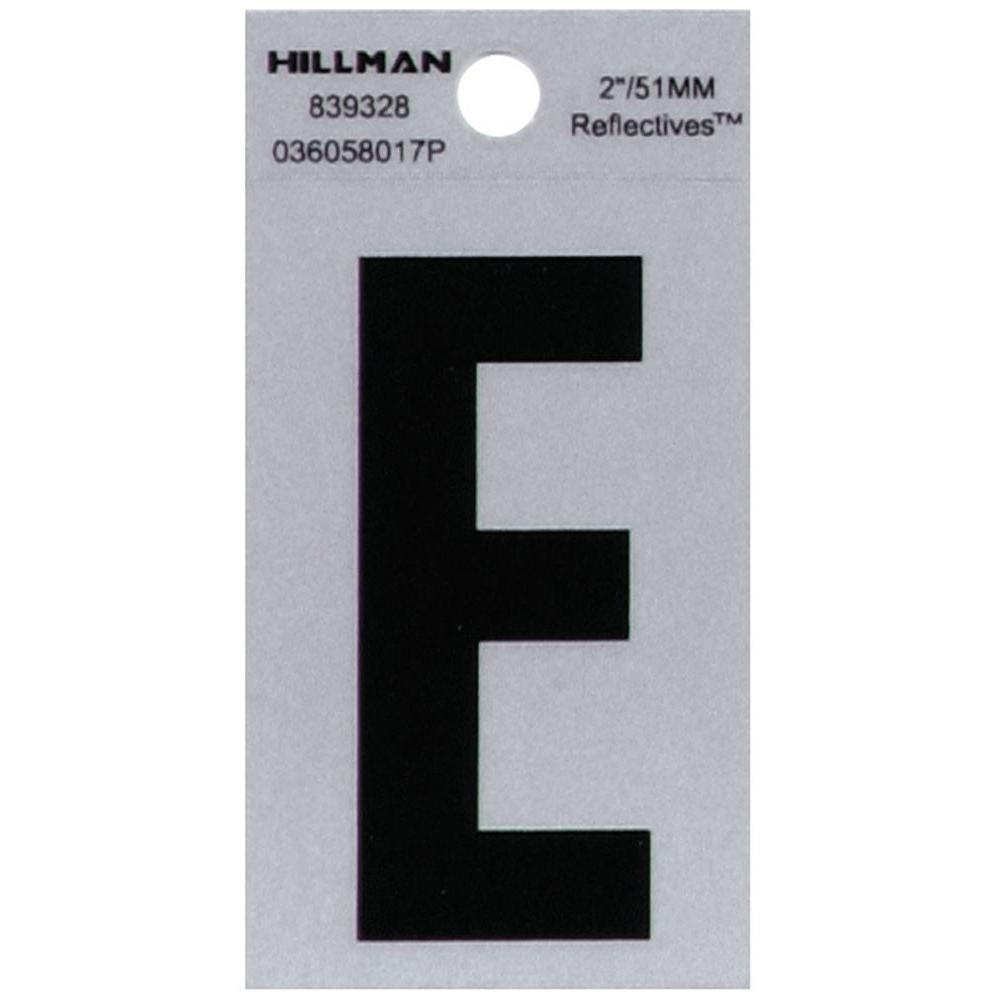 The Hillman Group  In Vinyl Letter E  The Home Depot
