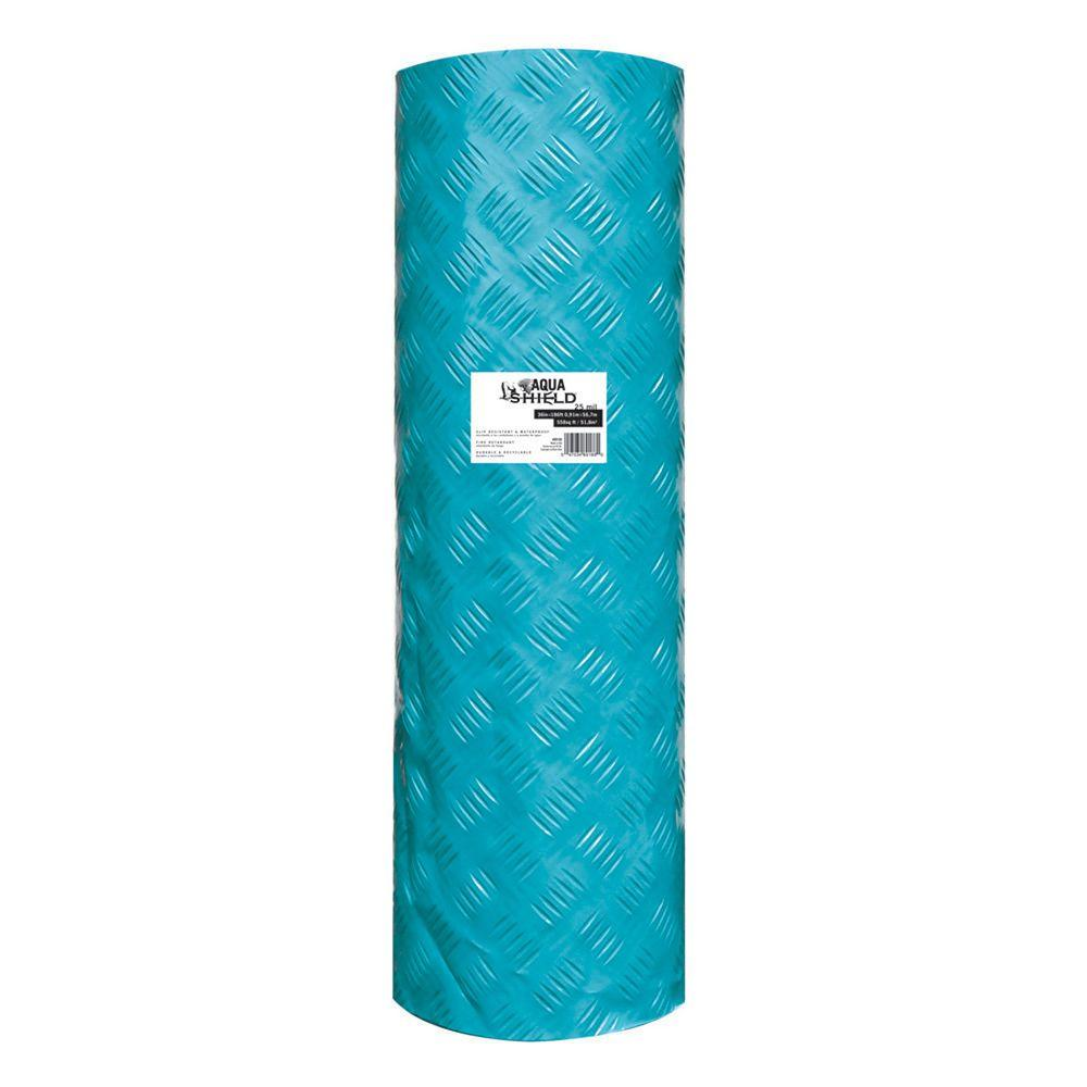 TRIMACO Aqua Shield 36 in. x 100 ft. 10mil Ultimate Surface Protector