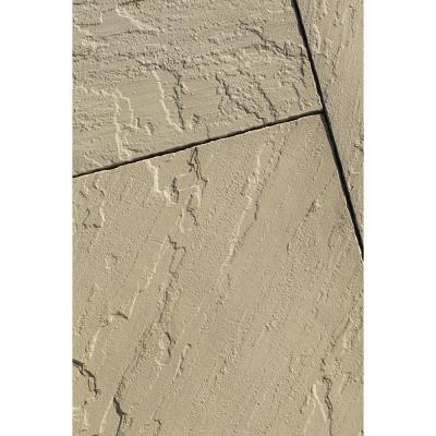 Slate 14 in. x 14 in. x 1.5 in. Cream Bullnose Concrete Paver (24-Pieces/32.66 sq. ft./Pallet)