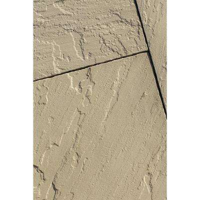 Slate 24 in. x 24 in. x 1.5 in. Cream Concrete Paver (24-Pieces/96 sq. ft./Pallet)
