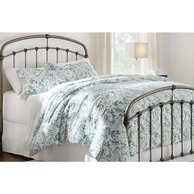 Piazza 3-Piece Charleston Reversible Full/Queen Duvet Cover Set