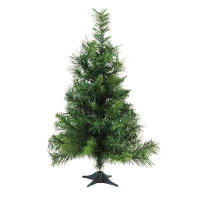 2 ft. x 14 in. Royal Pine Medium Artificial Christmas Tree Unlit