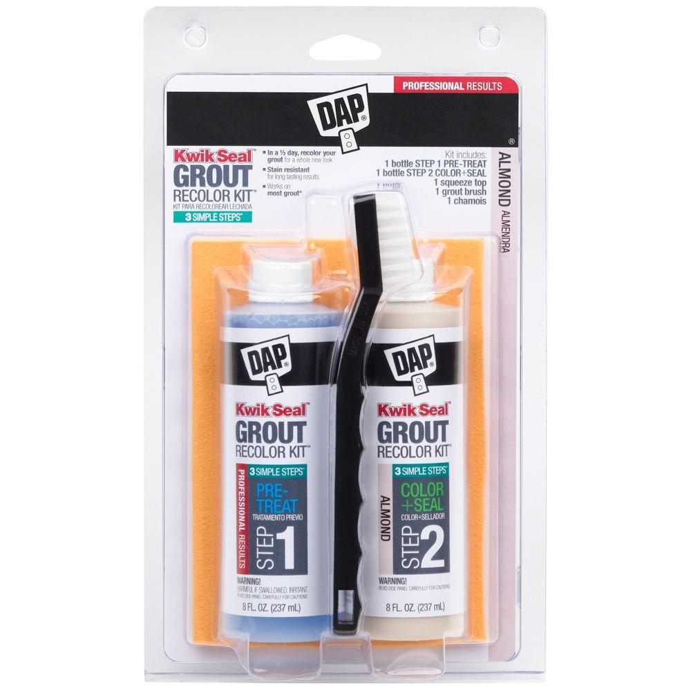 DAP 16 oz. Almond Kwik Seal Grout Recolor Kit