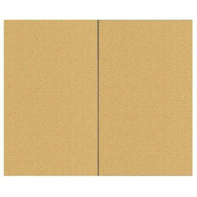 44 sq. ft. Summer Fabric Covered Wall Panel Top Kit
