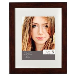 Pinnacle 11 inch x 14 inch Walnut Picture Frame by Pinnacle