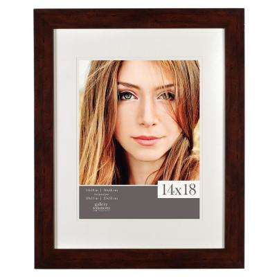 11 in. x 14 in. Walnut Picture Frame