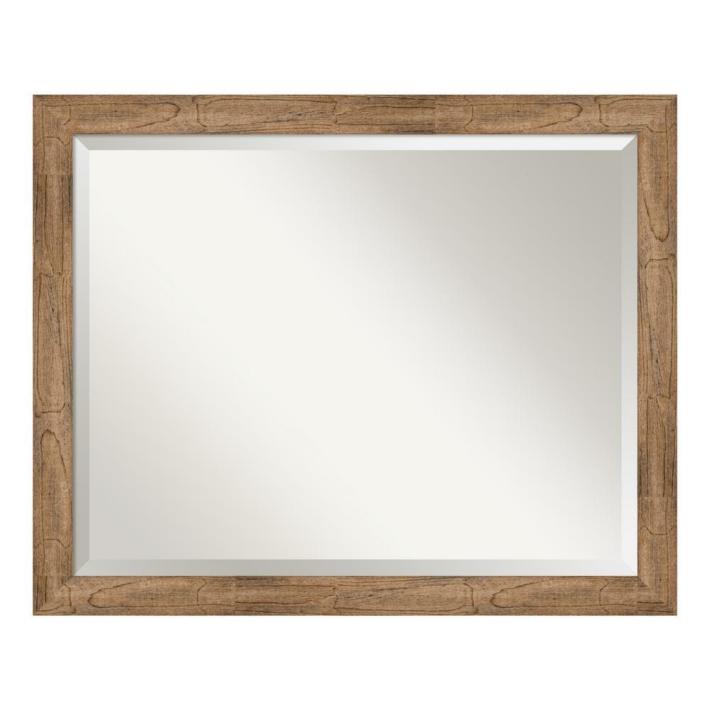 Owl Brown Narrow Bathroom Vanity Mirror
