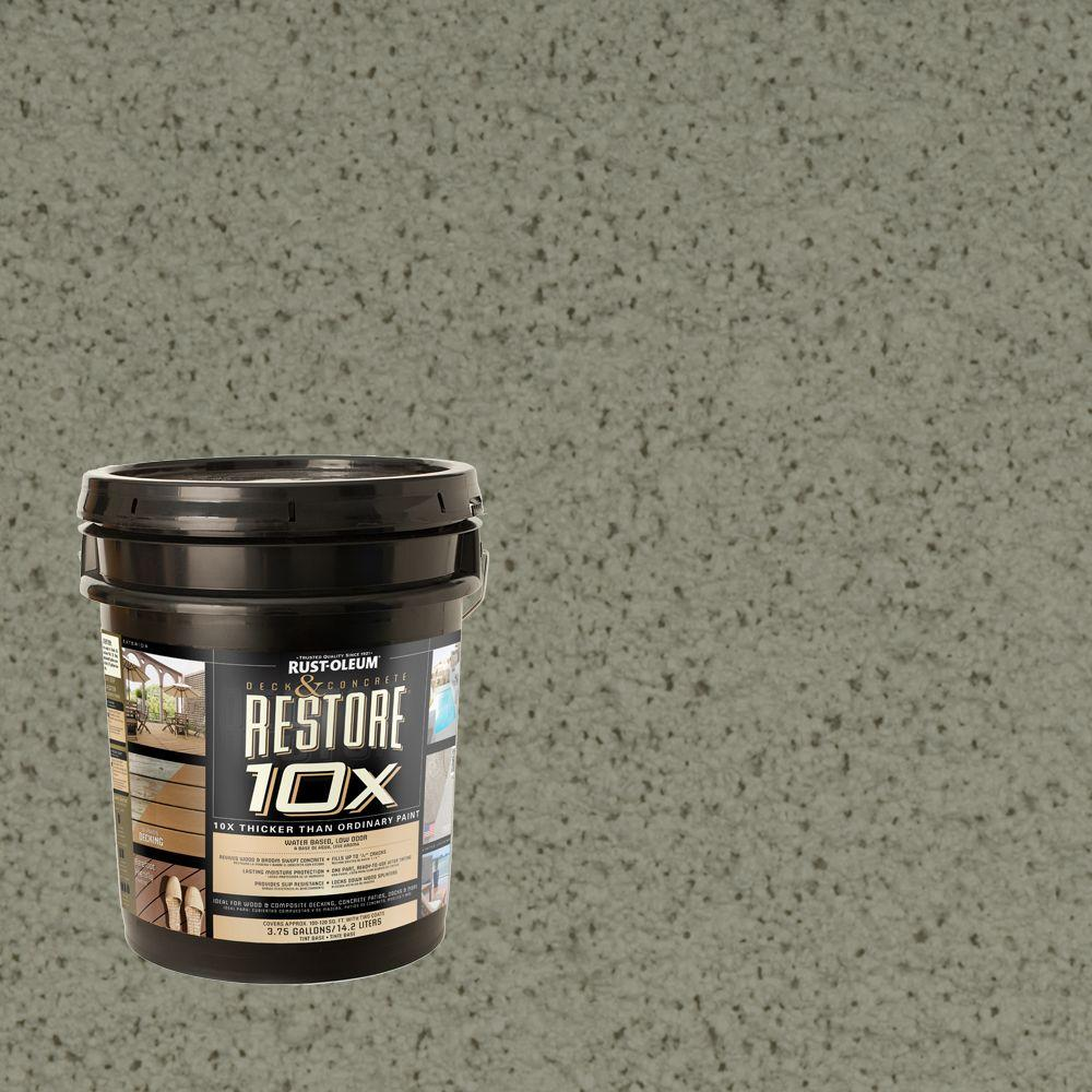 Rust-Oleum Restore 4-gal. Moss Deck and Concrete 10X Resurfacer