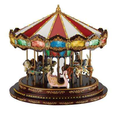 15.40 in. Marquee Deluxe Carousel