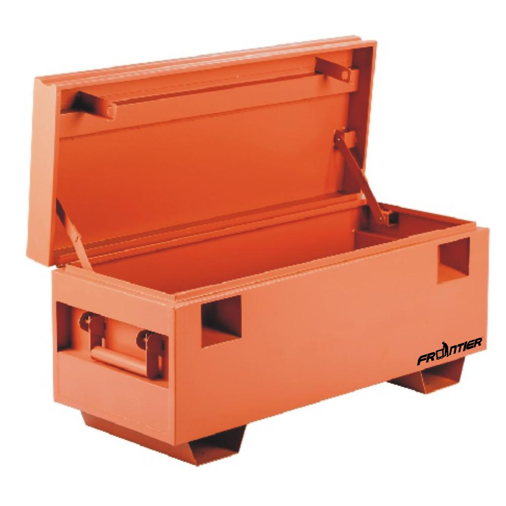 a483893fe98 Frontier 42 in. x 20 in. Steel Job Site Tool Box-JSB422020 - The ...