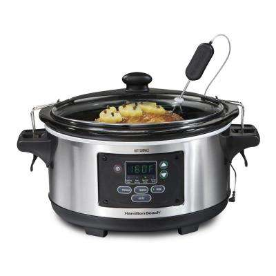 Set and Forget Programmable 6 Qt. Slow Cooker