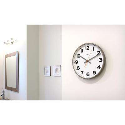Madison 15 in. Round Wall Clock