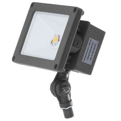 ProLED 21-Watt Bronze Outdoor Integrated LED Landscape Compact Flood Light Fixture