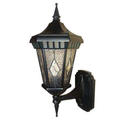 Verbier Collection 1-Light Black Outdoor Wall Lantern