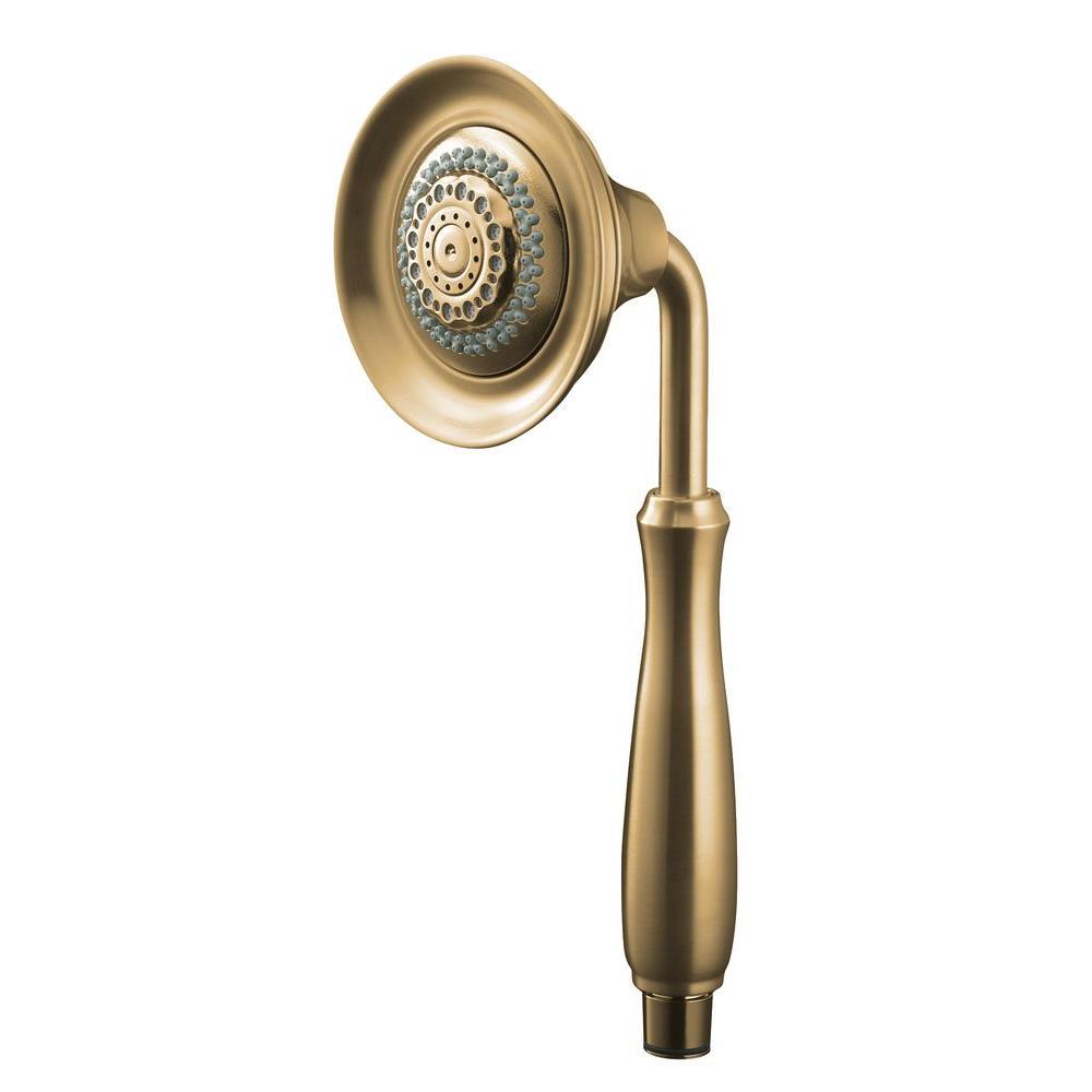 KOHLER Forte 4-spray Multifunction 4-3/4 in. Raincan Handshower in Vibrant Brushed Bronze